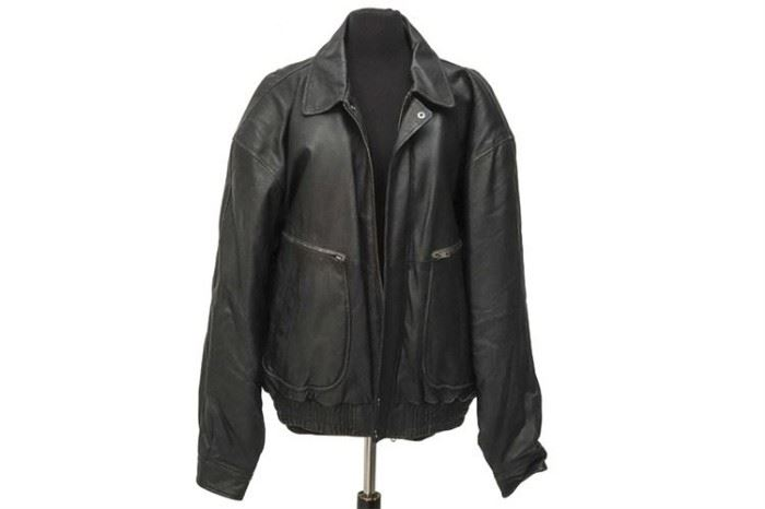318. Wilsons Adventure Bound Leather Jacket