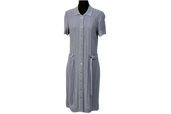 354. ST JOHN Ladies Knit Shirt Dress