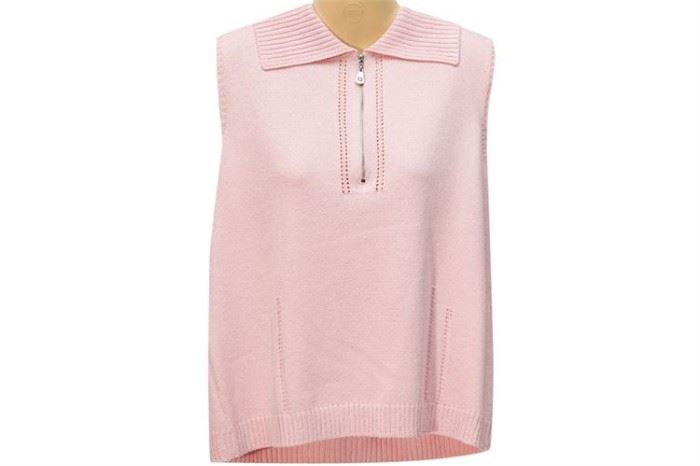 355. ST JOHN Ladies Sleeveless Knit Top