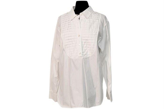 368. Ladys JAEGER Tuxedo Style Blouse