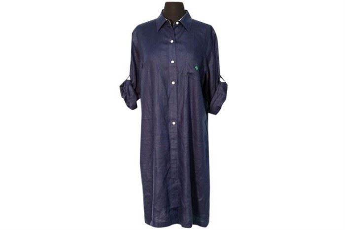 380. Ladys Shirt Dress by RALPH LAUREN