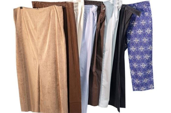384. Group Lot of Ladys Trousers