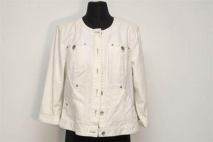402. CALVIN KLEIN JEANS Tunic Style Coat