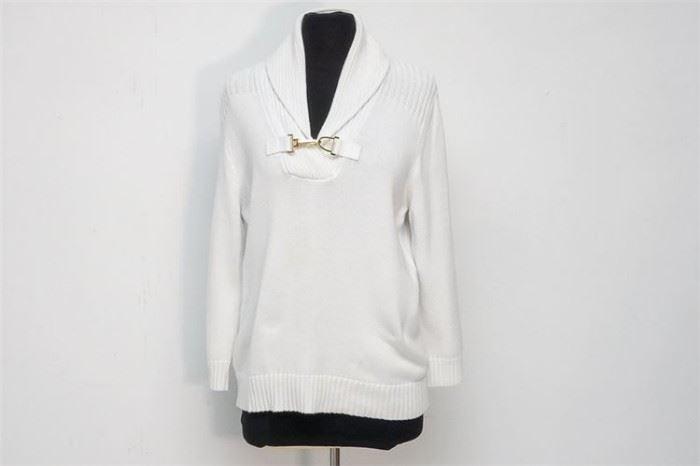 403. Ladys LAUREN Cotton Sweater