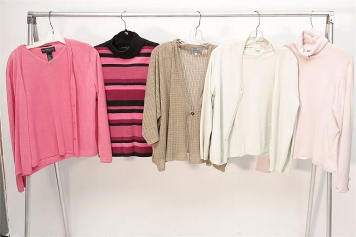 409. Group Lot of Ladys Sweaters