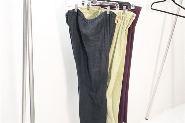 417. Group Lot of Three 3 Ladys Pants