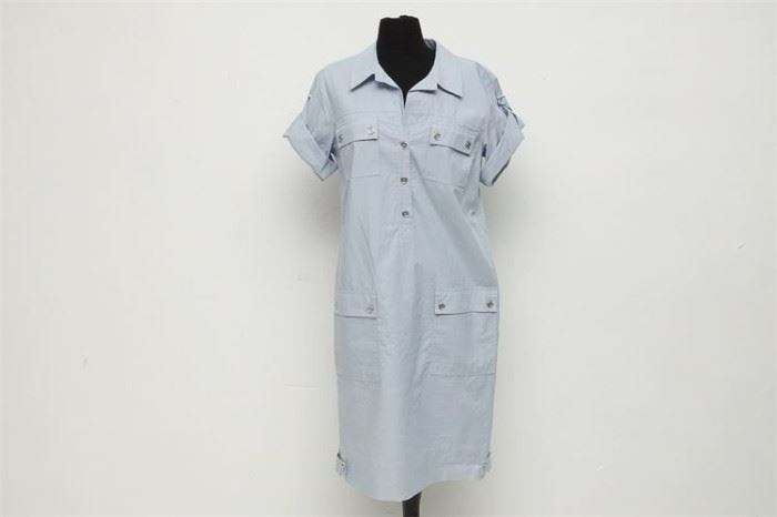 418. ELLEN TRACY Shirt Dress