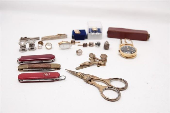 423. Group Lot of Gentlemans Accessories