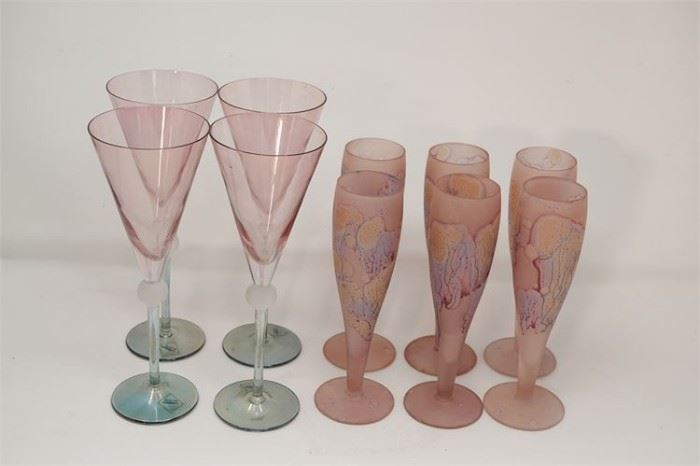 431. Two 2 Sets of Contemporary Glassware
