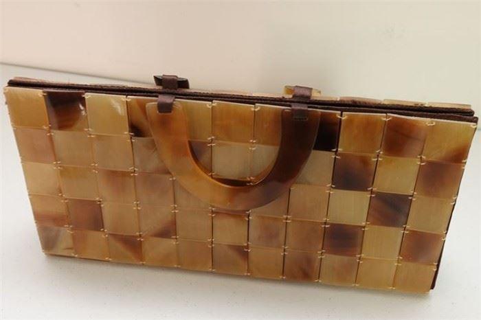 433. CHAN LUU Squares Handbag