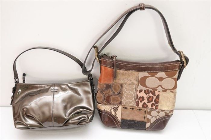 435. Two 2 COACH Ladys Hand Bags