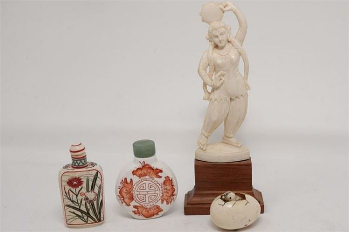 442. Miscellaneous Lot of Asian Decorative Items