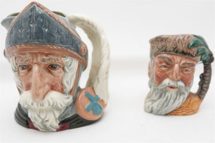445. Two ROYAL DOULTON Character Mugs