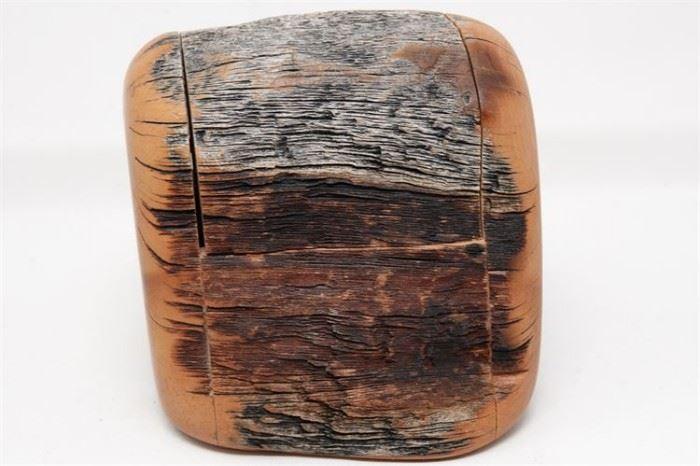 455. Handmade Rustic Wooden Box