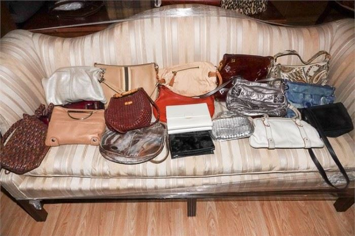 460. Group Lot of Ladys Hand Bags