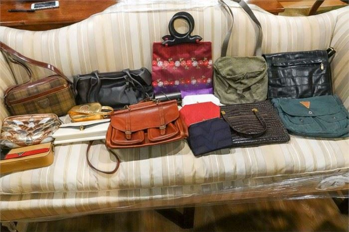 461. Group Lot of PRADA etc Ladys Purses