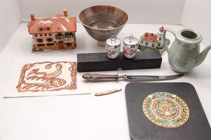 465. Group Lot of Kitchen and Decorative items