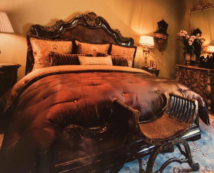 E44 Luxury King Bedding