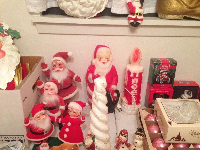 Grandma's Santas... come check them out!