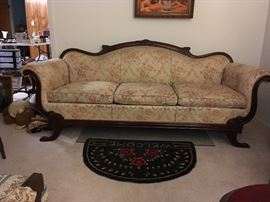 Beautiful Victorian Couch.