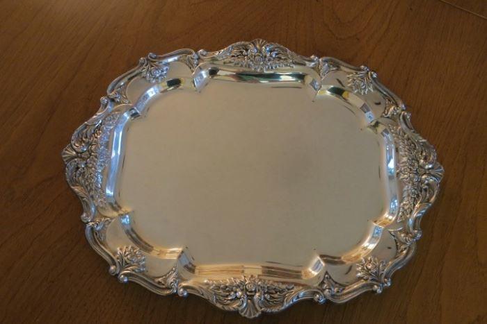Wallace St. Regis Silver Plate Tray