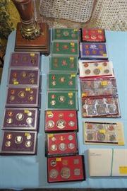 U.S. Mint Proof Sets, Uncirculated Coin Sets