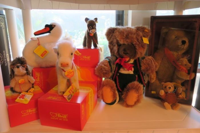 Steiff Collection - Some Signed