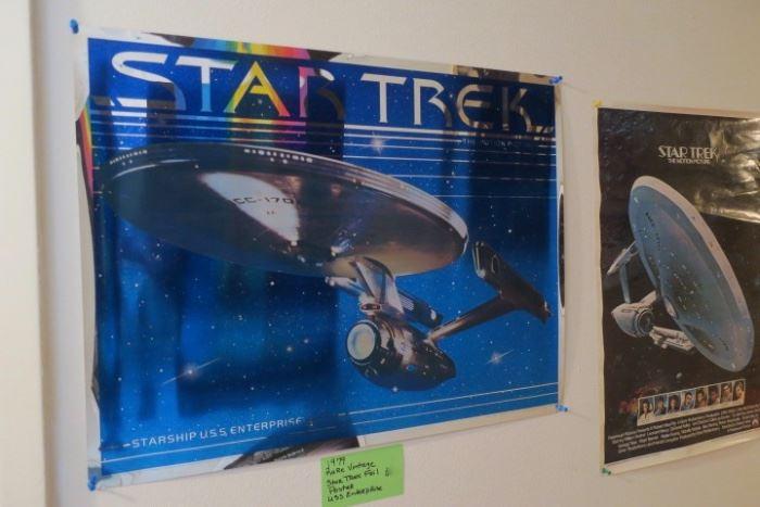 Rare Star Trek Foil Poster