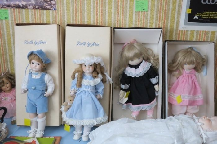 Dolls by Jerri
