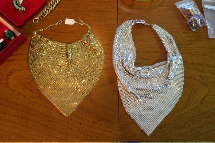3 Whiting & Davis Bid Necklaces