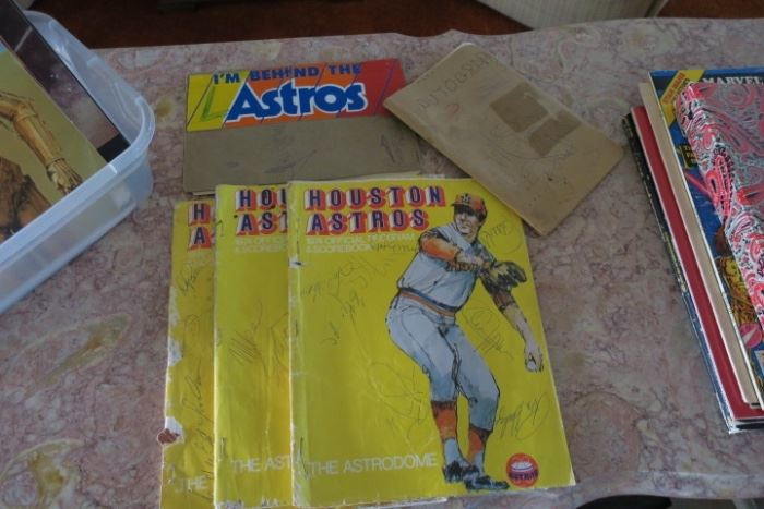 1974 Astros Signed Programs