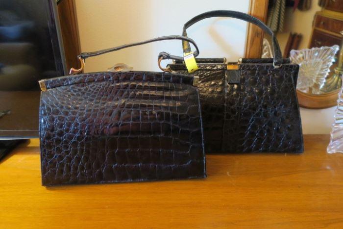 Vintage Alligator Handbags - Beautiful Condition!!!!
