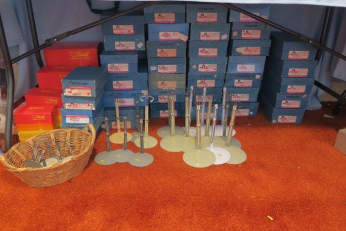 Empty Madame Alexander & Steiff Boxes