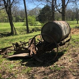 Antique tobacco setter used on the farm
