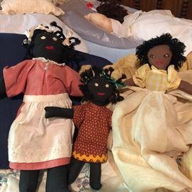 Handmade Black Americana dolls
