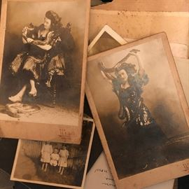 Antique cabinet card photographs by Frank Wendt from his Boonton, NJ studio, late 1800s to early 1900s