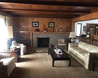 Rosewood Furniture Throughout!!