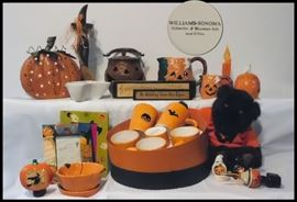 This is Halloween! Halloween! Halloween! and some are Williams - Sonoma.