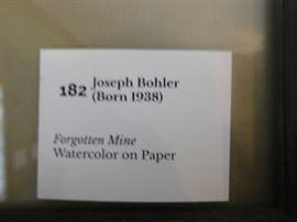 Joseph Bohler Watercolor on paper ( Forgotten Mine)