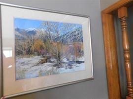 Kathleen Smith Pastel New Mexico Artist