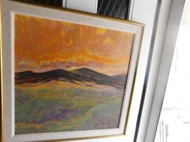 Marilyn Luther Original Oil on Linen New Mexico Artist