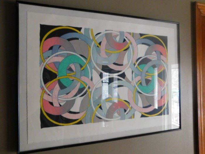 Hiroshi Murata 41/44 Serigraph  ( New Mexico Artist)