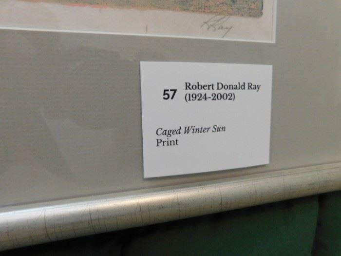 """Robert Ray, """"Caged Winter Sun"""""""