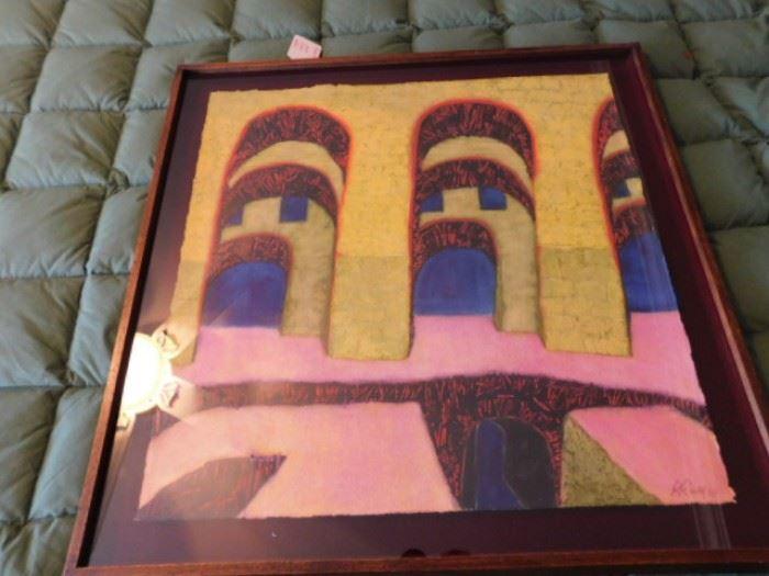 Robert Ray, New Mexico artist pastel