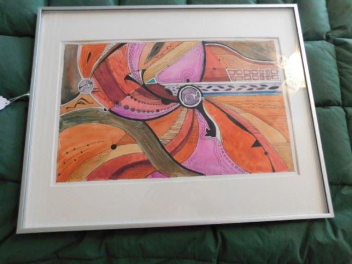 Robert Fletcher, watercolor New Mexico artist