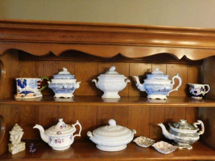 English porcelain and fine china