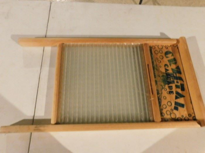 Crystal Cascade wash board