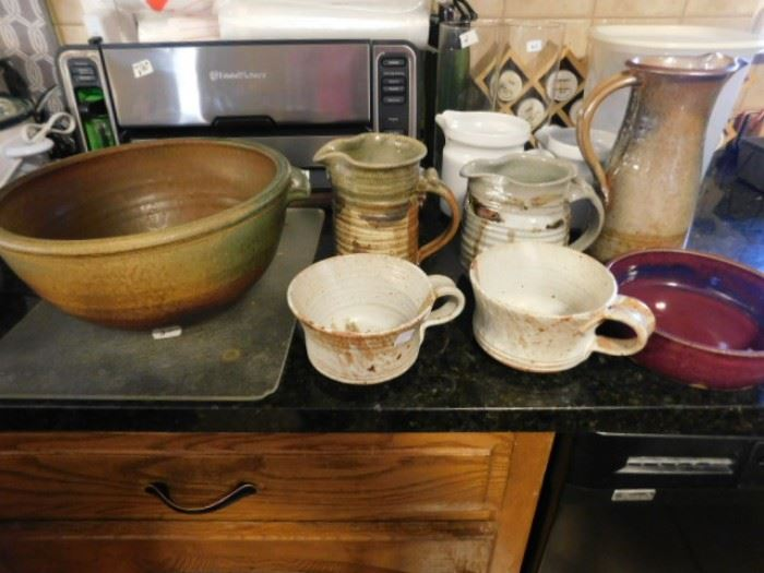 Hand made lale pottery dishes