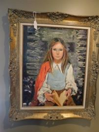 M.C. Luther, New Mexico artist, Oil painting