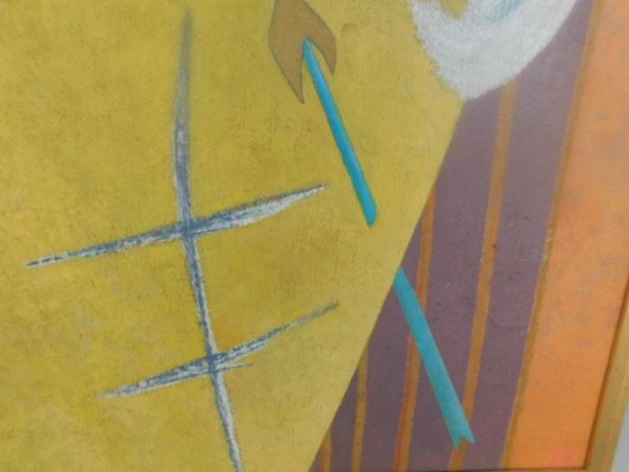 Bill Bomar Abstract oil Taos Modern Artist